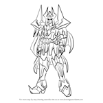 How to Draw King of Knights, Alfred from Cardfight!! Vanguard