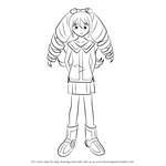 How to Draw Rekka Tatsunagi from Cardfight!! Vanguard
