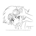 How to Draw Edward from Cowboy Bebop