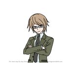 How to Draw Byakuya Togami from Danganronpa