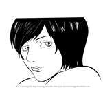 How to Draw Kiyomi Takada from Death Note