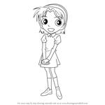 How to Draw Ayumi Yoshida from Detective Conan