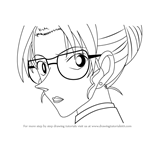How to Draw Eri Kisaki from Detective Conan