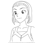 How to Draw Sonoko Suzuki from Detective Conan