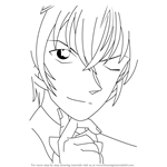 How to Draw Tooru Amuro from Detective Conan