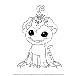 How to Draw Palmon from Digimon
