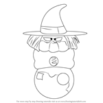 How to Draw Fortuneteller Baba from Dragon Ball Z