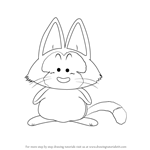 How to Draw Puar from Dragon Ball Z
