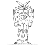 How to Draw Omega Shenron from Dragon Ball