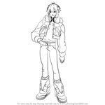 How to Draw Aoba Seragaki from DmmD