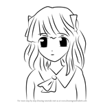 How to Draw Mariko from Elfen Lied
