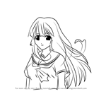 How to Draw Nozomi from Elfen Lied