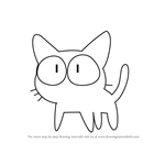 How to Draw Takkun from Fooly Cooly