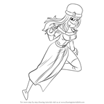 How to Draw Juvia Lockser from Fairy Tail