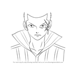 How to Draw Mest Gryder from Fairy Tail