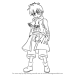 How to Draw Romeo Conbolt from Fairy Tail