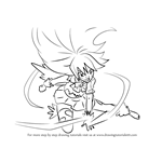 How to Draw Wendy Marvell in Dragon Force from Fairy Tail