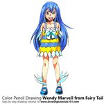 How to Draw Wendy Marvell from Fairy Tail