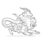 How to Draw Chimera from Fate-Grand Order