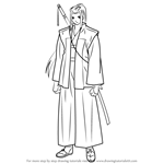 How to Draw Assassin from Fate-stay night