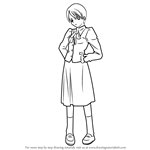 How to Draw Kaede Makidera from Fate-stay night