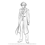 How to Draw Kiritsugu Emiya from Fate-stay night