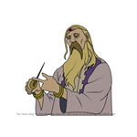 How to Draw King of Xerxes from Fullmetal Alchemist