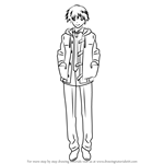 How to Draw Aru Akise from Future Diary