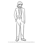 How to Draw Keigo Kurusu from Future Diary