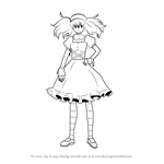 How to Draw Minene Uryuu from Future Diary