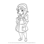 How to Draw Reisuke Houjou from Future Diary