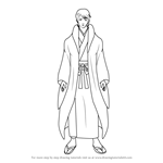 How to Draw Honjou Kyoushirou from Gin Tama