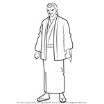 How to Draw Housen from Gin Tama
