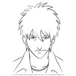 How to Draw Janki Akage from Gin Tama