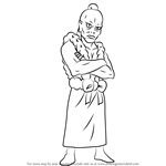 How to Draw Kaikei from Gin Tama