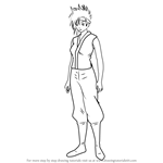How to Draw Murata Tetsuko from Gin Tama
