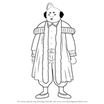 How to Draw Prince Hata from Gin Tama