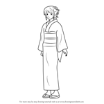 How to Draw Shimura Tae from Gin Tama