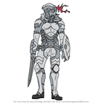 How to Draw Goblin Slayer from Goblin Slayer