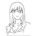 How to Draw Emily from Guilty Crown