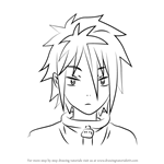 How to Draw Kenji Kido from Guilty Crown