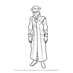 How to Draw Aaron Simmons from Gundam