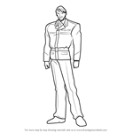How to Draw Abel Bauer from Gundam