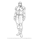 How to Draw Ailos Bade from Gundam