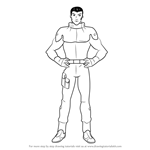 How to Draw Alec Lad from Gundam