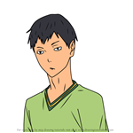 How to Draw Isao Inagaki from Haikyuu!!