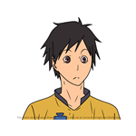 How to Draw Takeharu Futamata from Haikyuu!!