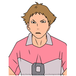 How to Draw Teppei Naruko from Haikyuu!!