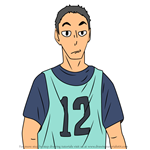 How to Draw Wataru Onaga from Haikyuu!!