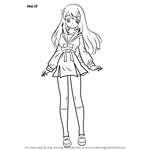 How to Draw Mikuru Asahina from Haruhi Suzumiya